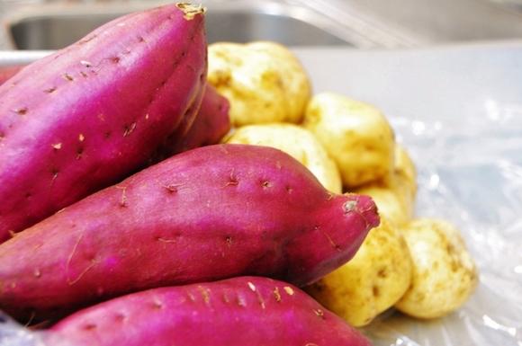 サツマイモとジャガイモ